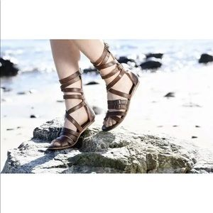 Bed Stu Seneca Gladiator Leather Strappy Sandals